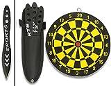 Martinez Albainox SPORT 3er Wurfmesser-Set 17,8cm mit Zielscheibe