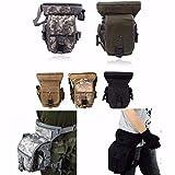 CAMTOA Tactical Hip Bag Hüfttasche Beintasche,Sport Taktische Airsoft Militär Tropfen Bein...