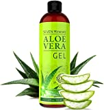 Aloe Vera GEL - 99% biologisch, 12oz - KEIN XANTHAN, zieht schnell ein, keine Rückstände - Made in...