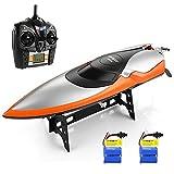 HELIFAR Ferngesteuertes Schwimmbad und Seen, 2,4 GHz, Geschwindigkeit, 20 MPH, 180 Grad drehbar, RC...