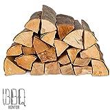 60kg (2x30kg) Brennholz Kaminholz 100% Buchenholz Feuerholz 25cm - kammergetrocknet, ofenfertig und...