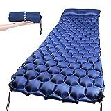 Ultraleichte Isomatte,schnelle Aufblasen Camping Luftmatratze Matratze Schlafmatte aus TPU für...
