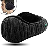 Dimples Excel Unisex Knit Ear Muffs Foldable Ear Warmers Winter Outdoor Earmuffs Size Adjustable (1...