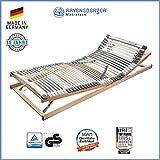 Ravensberger Matratzen Medimed Lattenrost   7-Zonen-Buche-Lattenrahmen   44 Leisten  verstellbar ...