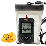 Lucky FFW-718 Portable Fishfinder Locator 45m Tiefe 120m Wireless Sonar Reichweite, Wassertemperatur...