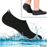 Aqua-Socken für Frauen – Mehr Komfort – Schützen vor Sand, kaltem/heißem Wasser, UV-Licht,...