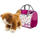Barbie Plüsch Katze 29 cm in Tasche 20 • Plüschkatze Kuscheltier Schmusetier Spielzeug...