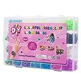 Yi RAN 4200 Teile XL Loom Bänder Kit Loom Armbänder Set Gummibänder mit 10Charms Anhänger...