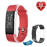 Fitness Armbanduhr mit Herzfrequenz, Letsfit Fitness Tracker, IP67 Wasserdicht Bluetooth Sportuhr...