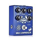 Festnight Caline CP-45 Bass Kompressor Bass Effektpedal Aluminiumlegierung mit True Bypass