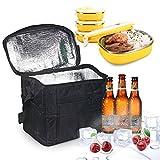 XY Life Kühltasche Eistasche Picknicktasche Lunch Tasche Klappbar faltbar Wasserdichte Isolierte...