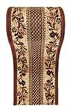 WE LOVE RUGS CARPETO Läufer Teppich Flur in Beige Braun - Traditionell Europäisch Muster -...