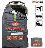 Beschan Standard Doppel XL Kinderwagen Transporttaschen Tragetasche Faltbar mit Schulterriemen für...