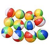 Zantec 12pcs Aufblasbare 6 Farbe Traditionellen Beach Balls Pool Party Spielzeug...