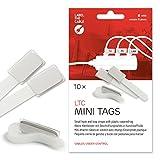 Label-the-cable Kabelbeschriftung mit Klettband, Klettbinder (Klettverschluss) mit...