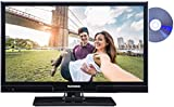 Telefunken XH20A101D 51 cm (20 Zoll) Fernseher (HD Ready, Triple Tuner, DVD-Player) schwarz