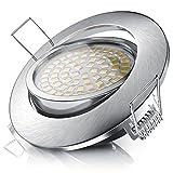 Brandson - LED Deckenspot dimmbar und schwenkbar | LED Einbauleuchte | LED Einbauspot / LED...