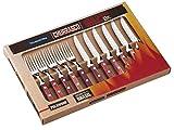 Tramontina 29899-219 Steakbesteck-Set, 12-teilig mit roten Griffen 2-fach vernietet