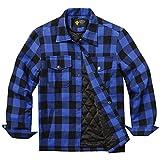 COOFANDY Herren Thermohemd mit gestepptem und schützendem Innenfutter Holzfällerhemd Arbeitshemd...