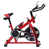 Blackpoolal SP6901 Hometrainer LCD Fitnessfahrrad Heimtrainer Fahrrad Fitness Bike Indoor Cycle...