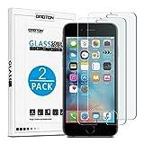 [2 Stück] OMOTON Panzerglas Displayschutzfolie für iPhone 6s und iPhone 6, 9H Härte,...