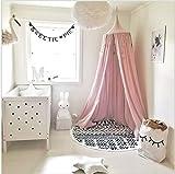 Betthimmel für Kinder/Babys, Baumwolle, Moskitonetz zum Aufhängen, Vorhang, Spiel- und Lesezelt...