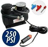 Mini Kompressor 250 PSI schwarze fur auto fahrrad camper Campingplatz und andere Hochleistungs...