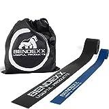 Floss Band 1,5mm + 1mm im Set von Bendexx, Flossing Band für Sport + Reha + Physio,...