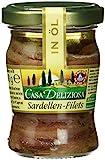 Casa Deliziosa Sardellenfilets gestreckt in Öl, 3er Pack (3 x 90 g)