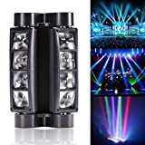 U`King Spider Moving Head Licht DMX512 lichttechnik mit 8x3W RGBW 4 Farbe LED Lampe für DJ Disco...