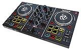 Numark Party Mix - DJ Controller mit Eingebauter Lichtshow und Soundkarte