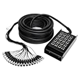 Adam Hall K 20 C 15 16/4 mehradriges Kabel mit Stagebox 15 m