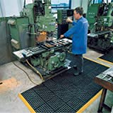 Arbeitsplatzmatte, für hohne Beanspruchung, für tr ockene oder nasse Bereiche, Stärke 19 mm,...
