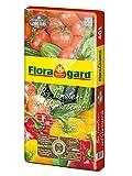 Floragard Bio Tomaten- und Gemüseerde ohne Torf 40 L • Bio-Spezialerde mit Kompost • für...