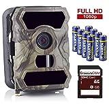 SecaCam HomeVista kabellose getarnte Outdoor Überwachungskamera (12 MP, Full HD Tag- / Nachtsicht,...