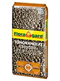 Floragard Blähton Tongranulat zur Drainage 5 L • Hydrokultursubstrat • für Pflanzkästen,...