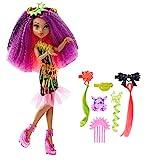 Mattel Monster High DVH70 - Elektrisiert Deluxe Clawdeen Puppe