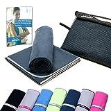 gipfelsport Mikrofaser Handtücher Sporthandtuch Set mit Tasche I Microfaser Badetuch,...