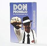 Don Promillo - Das Trink-Kartenspiel - Perfekt zum Vortrinken, Jungesellenabschied oder für den...