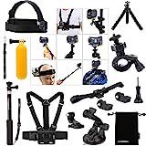 Luxebell® Zubehör Kit für Sony Action Cam HDR-AS15 / AS20 / AS30V / AS100V / AS200V / Sony Action...