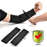 Yosoo Kevlar Sleeve Armschutz Unterarmschütze Anti-Schnitt Brennen Resistent Arm Sleeve - 1 Paar -...
