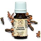 Nelkenöl 10 ml, 100% naturreines ätherisches Gewürznelke Öl, Reine & Natürliche Clove Bud Oil -...