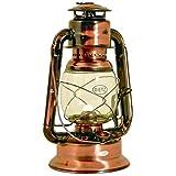 Dietz Original Sturmlaternen-SET große WIZARD Petroleumlampe, altdeutsche Kupferlackierung, Höhe...