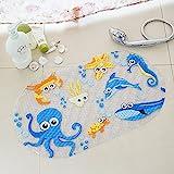 Antirutsch Badewannen Matte,Antirutsch Badematte für Kinder,CIDBEST® Anti Rutsch Teppich/Teppich...