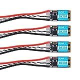 4pcs 30A Esc DYS DS30A 30amp BLHeli_S 3-5S ESC Elektronische Geschwindigkeitsregelung BB2...