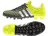 adidas ACE 15.3 FG/AG, Herren Fußballschuhe, Mehrfarbig (Black / Green / White), 44 EU (9.5 Herren...