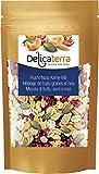 Delicaterra Frucht-Kerne-Nuss-Mix Vielfältige Kerne-, Trockenfrucht- und Nussmischung aus...