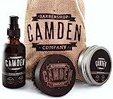 Camden Barbershop Company: Deluxe Bartpflege Geschenk-Set für Männer inkl....