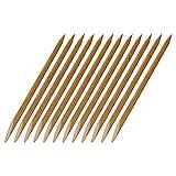 12 Rosenholzstäbchen / Manikürstäbchen für Gel und Acryl mit Spitzer und flacher Seite