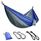 GEEKHOM Camping Hängematte für 2 Personen, Tagbare Hängematte aus Fallschirmseide mit...